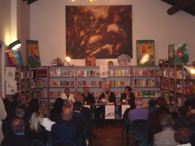 Presentazione nella biblioteca civica di Borgo S. Giacomo